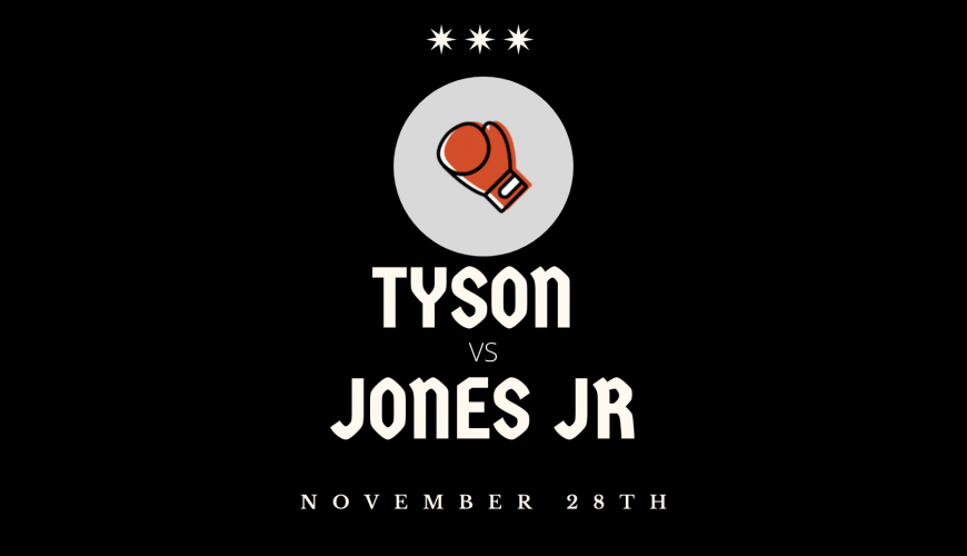 Tyson vs Jones fight November 28th