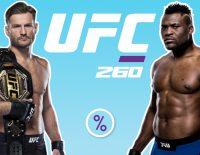 UFC 260 betting odds
