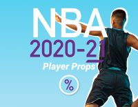 NBA 2020-21 player props
