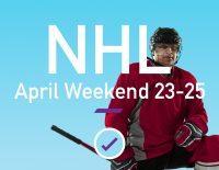 nhl april weekend picks